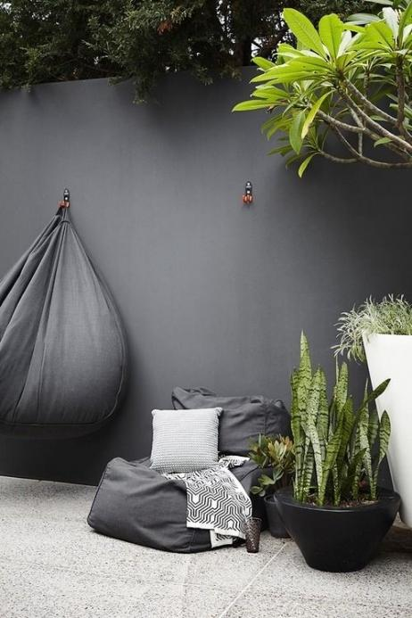 Polyester muur