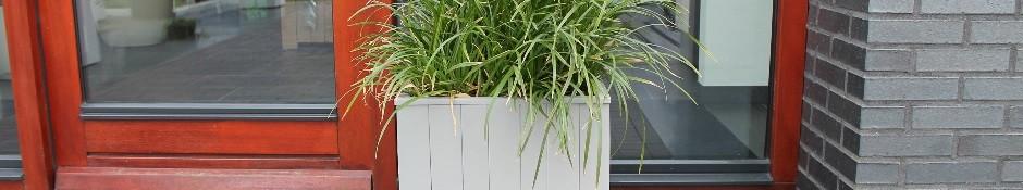 Acaciahout plantenbakken
