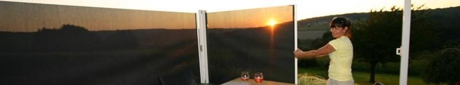 Windschermen horizontaal