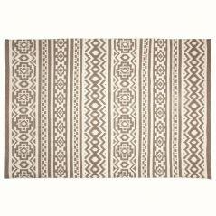 In-/outdoor carpet Cas sand-white-170 x 240 cm (