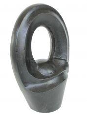 Terrazzo beeld - Organische abstracte sculptuur