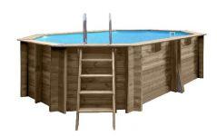 Zwembad Normandie ovaal 436x336x119 cm