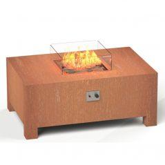 Vuurtafel Brann 120x80x50 cm cortenstaal