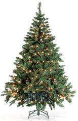 Royal Christmas Dakota kunstkerstboom 210 cm met LED verlichting
