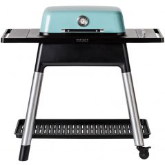 Everdure Force gasbarbecue 30 mBar mintblauw