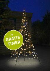 Fairybell kerstboom 200 cm. 300 LED