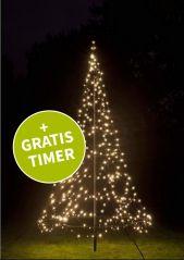 Fairybell kerstboom 300 cm. hoog met 360 LED-lampjes