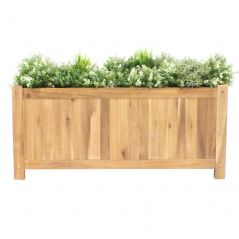 Hardhouten plantenbak Enjoyplanter Falco 90x25x40 cm