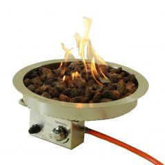 Sparkly fire inbouwbrander rond 40 cm.
