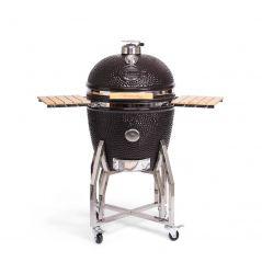 Yakiniku kamado barbecue houtskool keramisch 22'' met onderstel en zijtafels