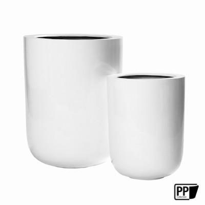 Glossy White Dice set van 2 60-44 cm.
