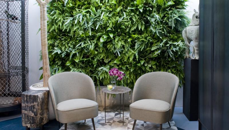 Tuinaccessoires 2021; plantenwand voor buiten
