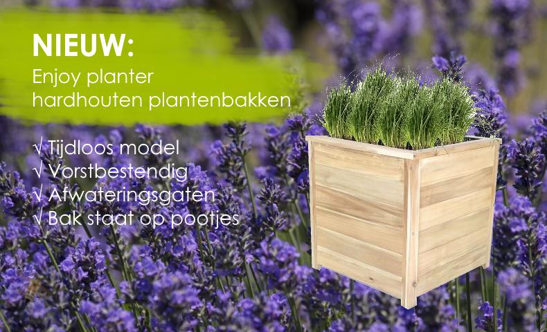 Enjoy planter hardhouten plantenbakken