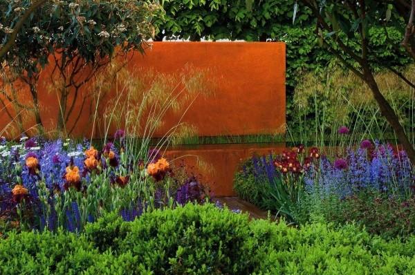 Chelsea Flower Show, showgarden Tom Stewart