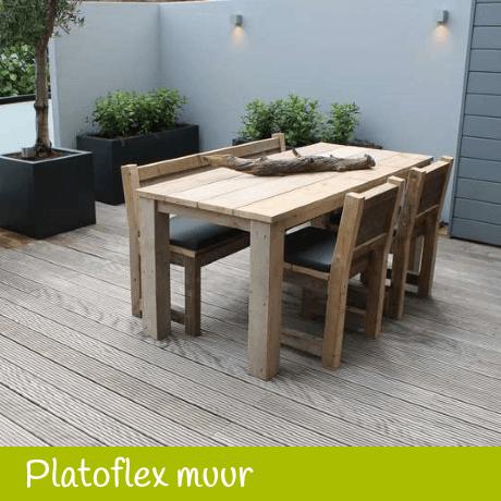Platoflex tuinmuren