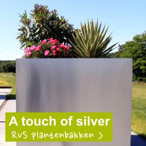 RVS plantenbakken